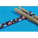 Webband Punk-Skull-Band